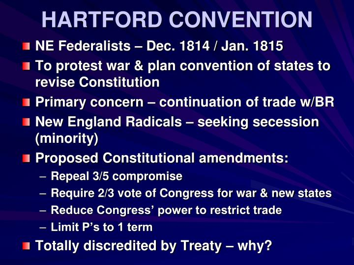 HARTFORD CONVENTION