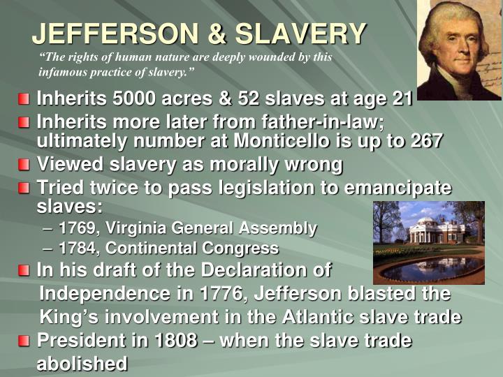 JEFFERSON & SLAVERY
