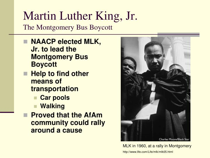 the montgomery bus boycott during the us civil rights movement Rosa parks's arrest sparked the montgomery bus boycott, during which the jim crow bus laws in montgomery at the time of in the us.