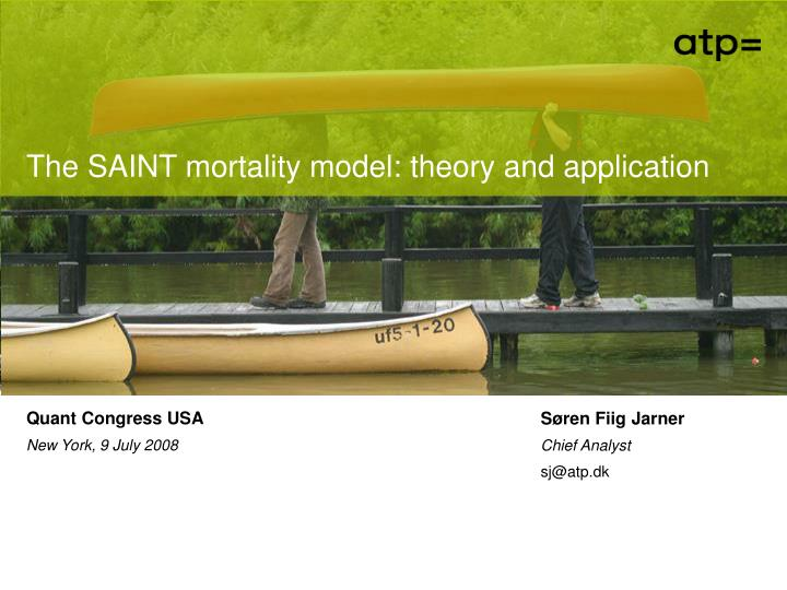 The SAINT mortality model: theory and application