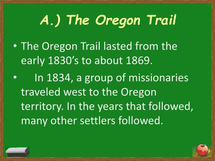 A the oregon trail1