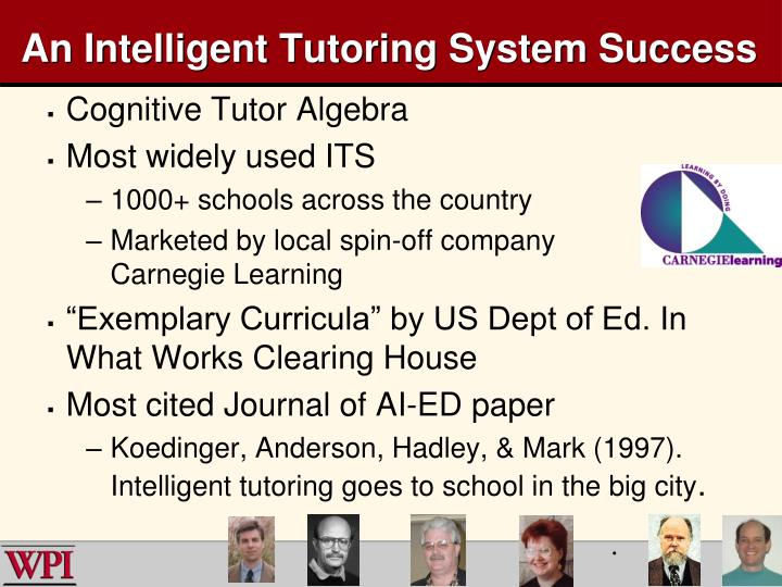 An Intelligent Tutoring System Success