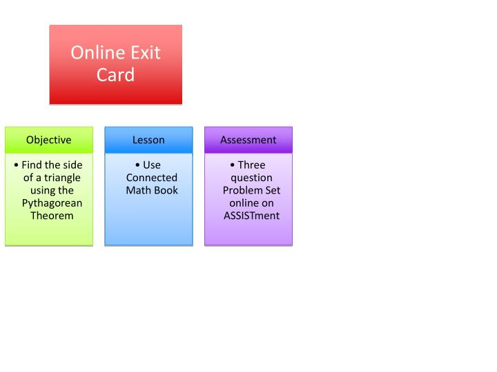 Online Exit Card