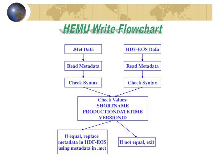 HEMU Write Flowchart