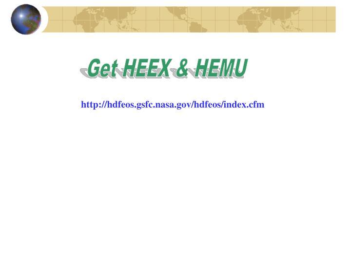 Get HEEX & HEMU