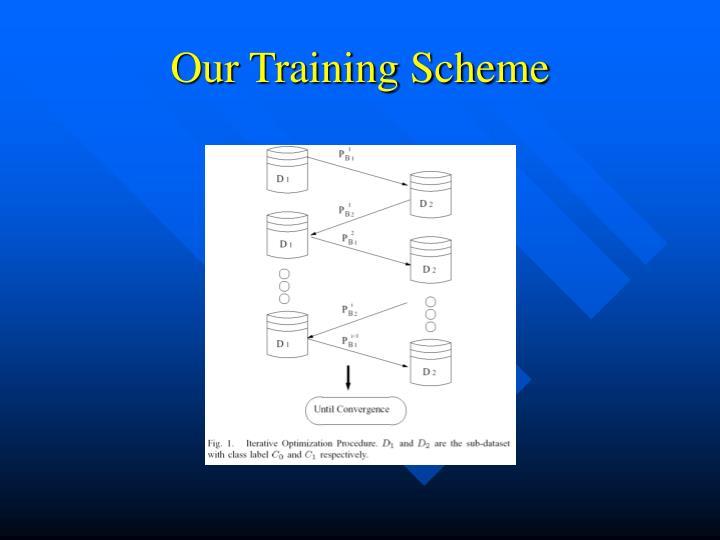 Our Training Scheme