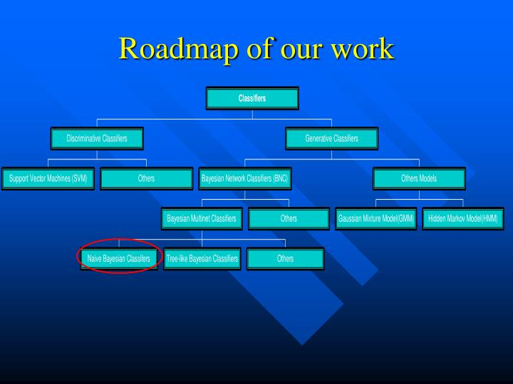 Roadmap of our work
