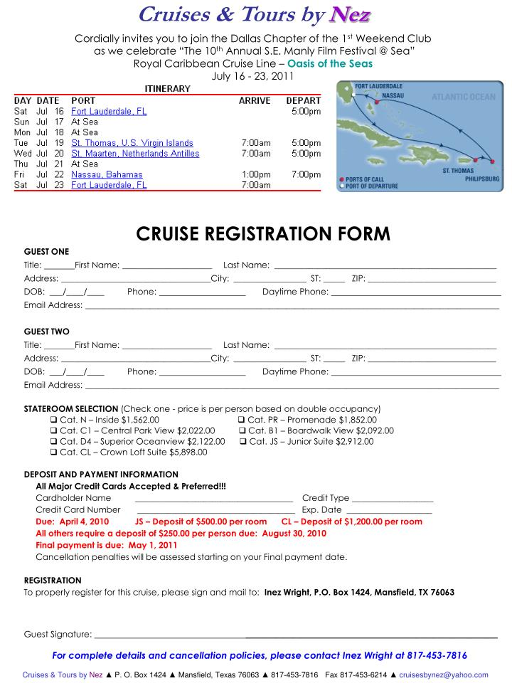 Cruises & Tours by