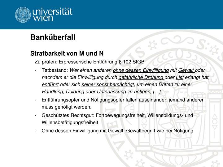 Banküberfall