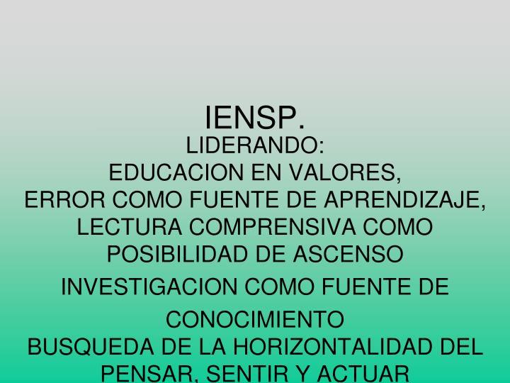 IENSP.