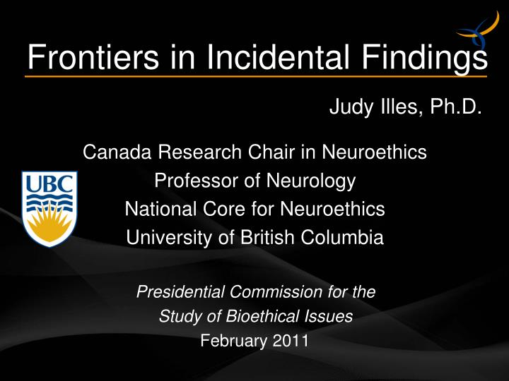 Canada Research Chair in Neuroethics