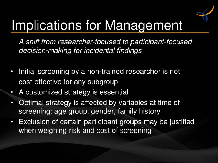 Implications for Management