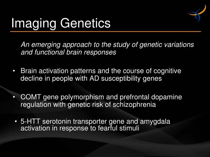 An emerging approach to the study of genetic variations and functional brain responses