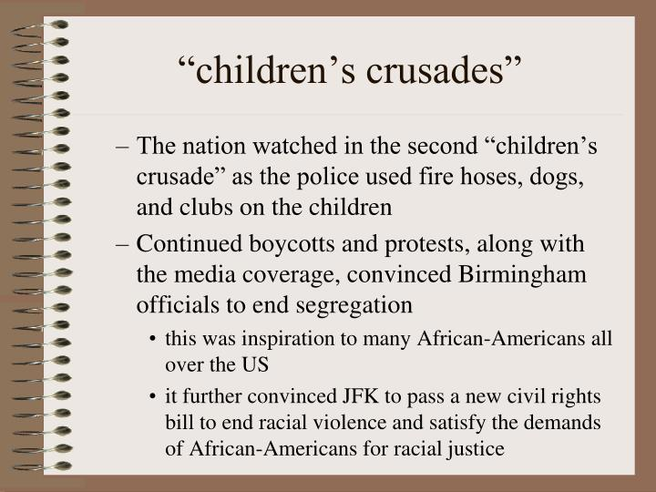 """children's crusades"""