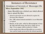 instances of resistance1