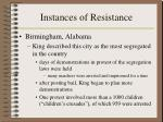instances of resistance2