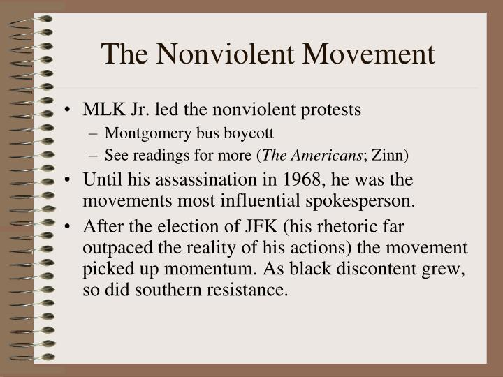 The Nonviolent Movement