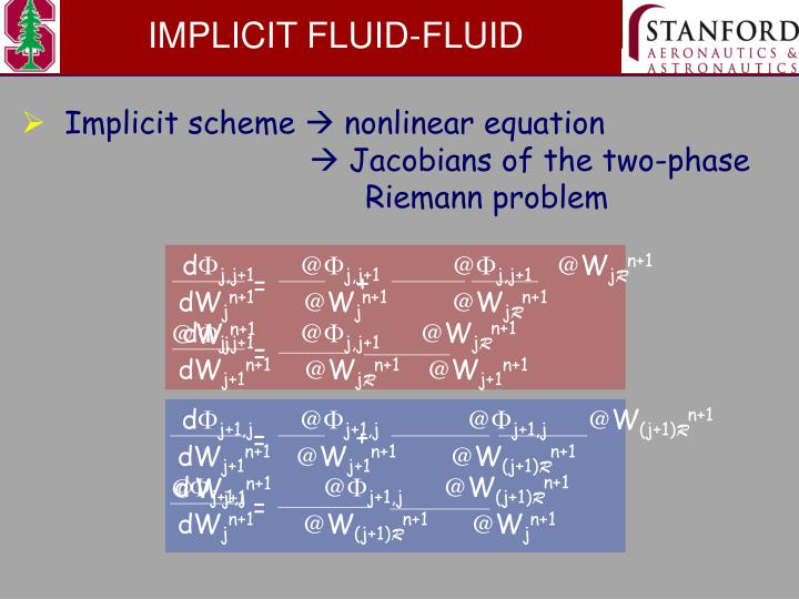 IMPLICIT FLUID-FLUID