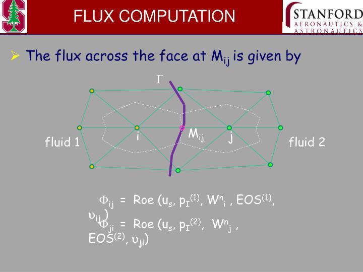 FLUX COMPUTATION