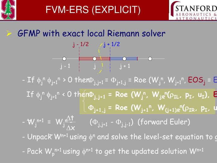 FVM-ERS (EXPLICIT)