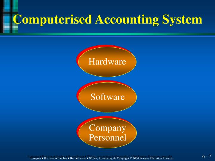 computerize accounting system