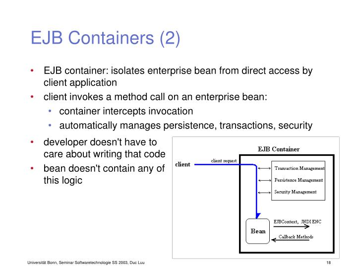 EJB Containers (2)