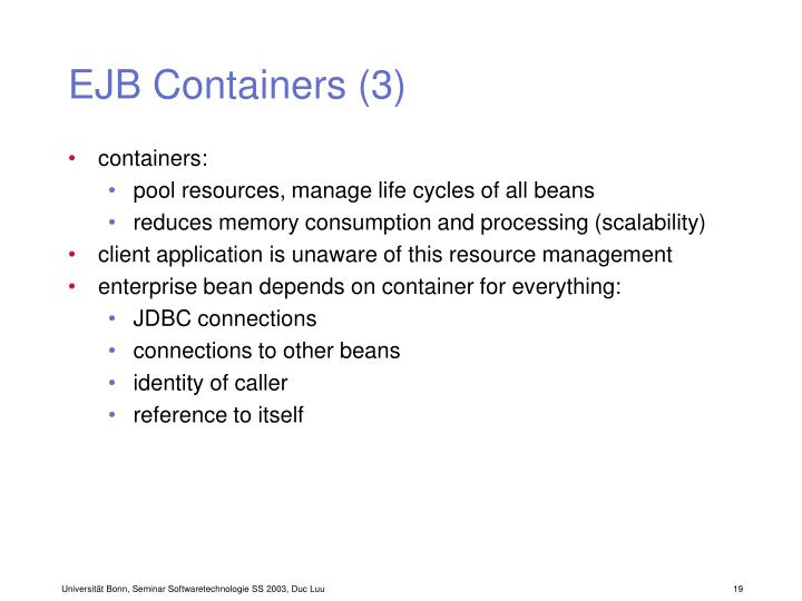 EJB Containers (3)