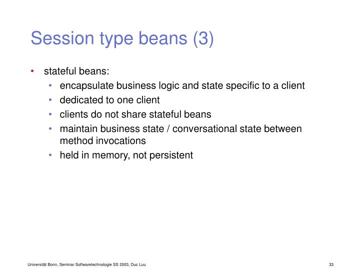 Session type beans (3)