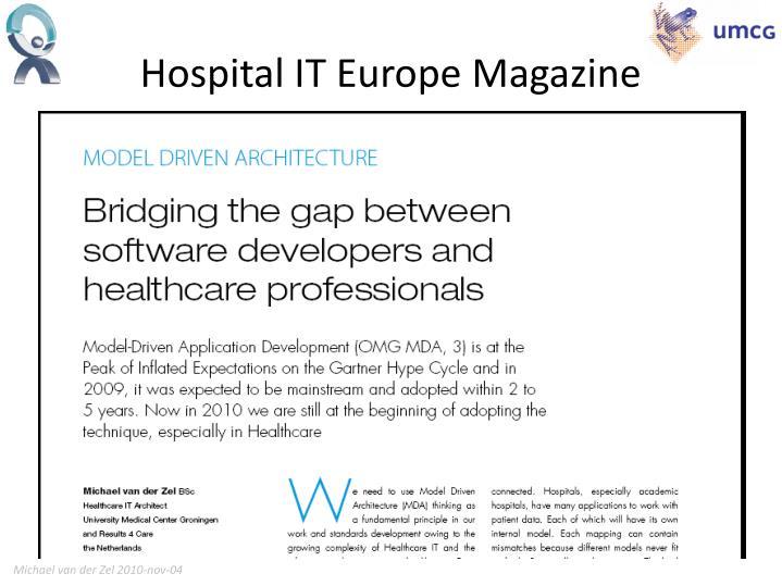 Hospital IT Europe Magazine