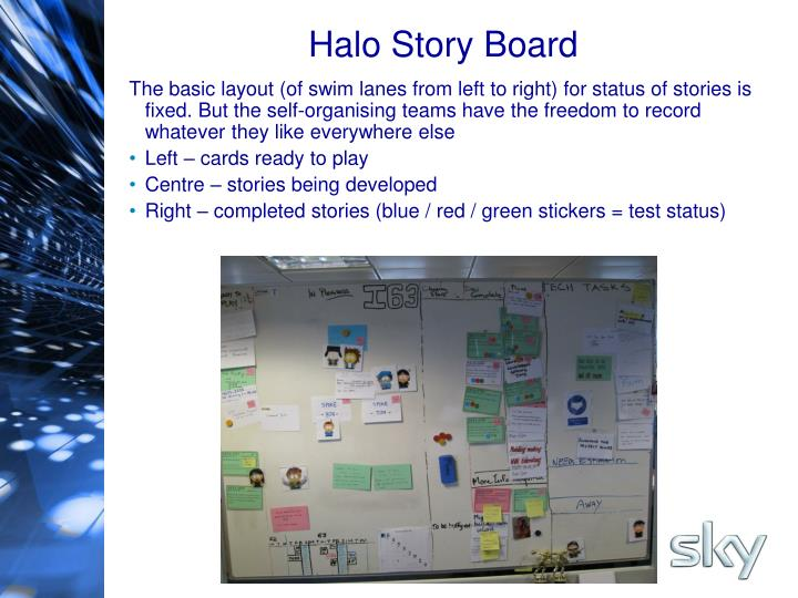 Halo Story Board