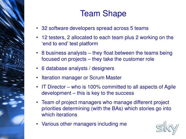 Team Shape