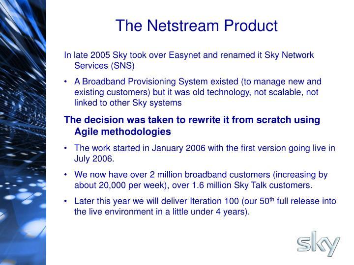 The Netstream Product