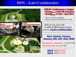 infn jlab12 collaboration