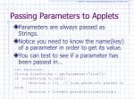 passing parameters to applets2