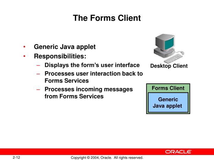 The Forms Client