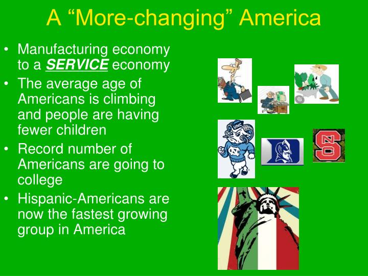 """A """"More-changing"""" America"""
