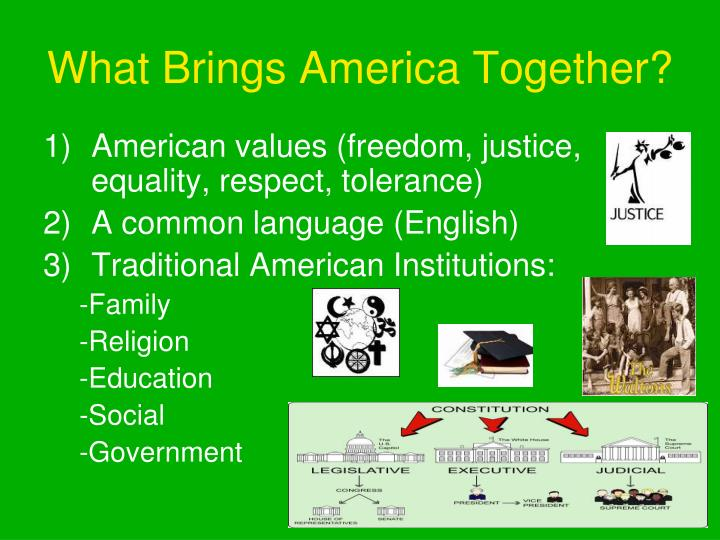 What Brings America Together?
