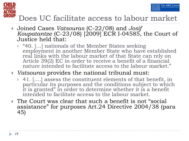 Does UC facilitate access to