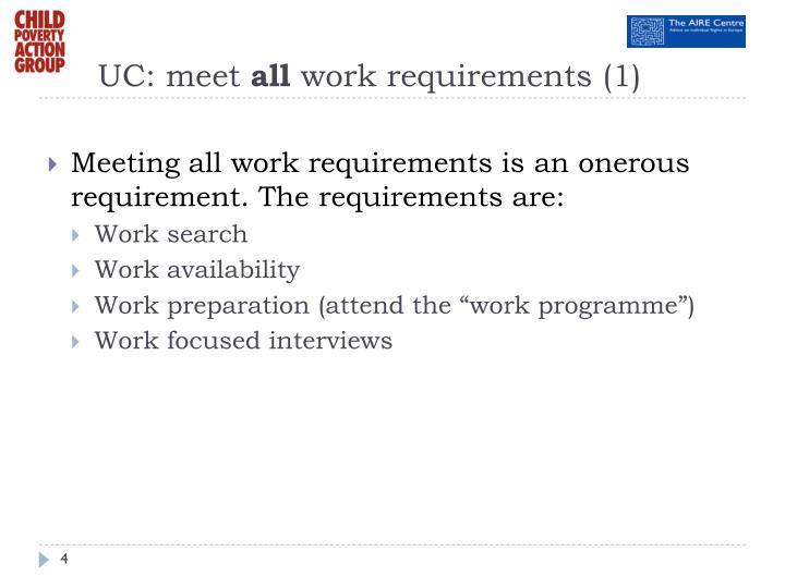 UC: meet