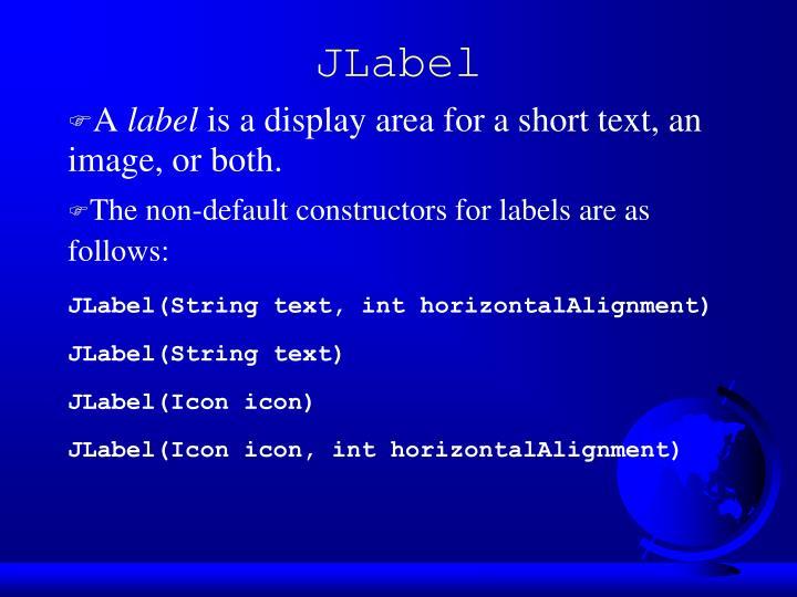 JLabel