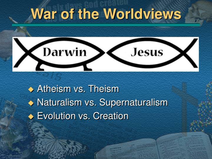 Naturalism Vs Supernaturalism
