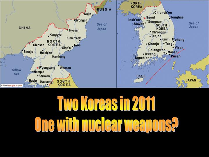 Two Koreas in 2011