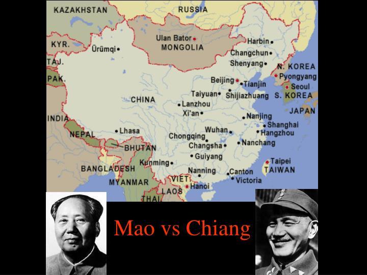 Mao vs Chiang