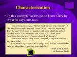 characterization1