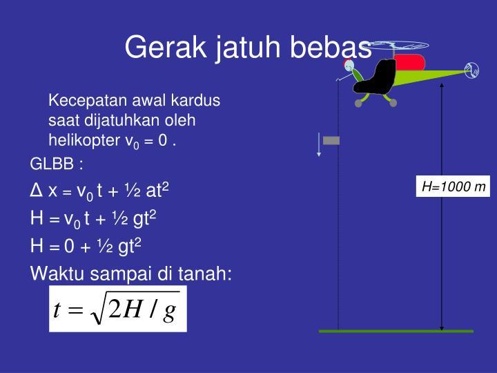 H=1000 m