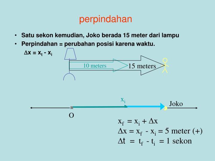 15 meters