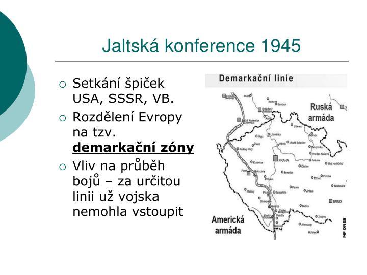 Jaltská konference 1945