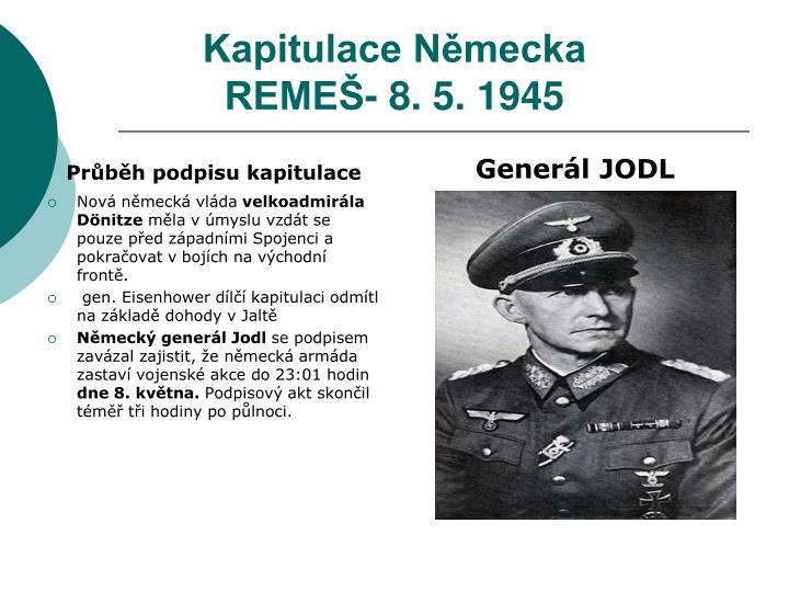 Kapitulace Německa
