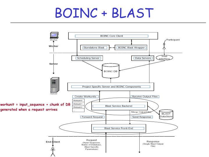 BOINC + BLAST