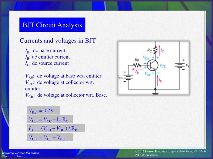 BJT Circuit Analysis